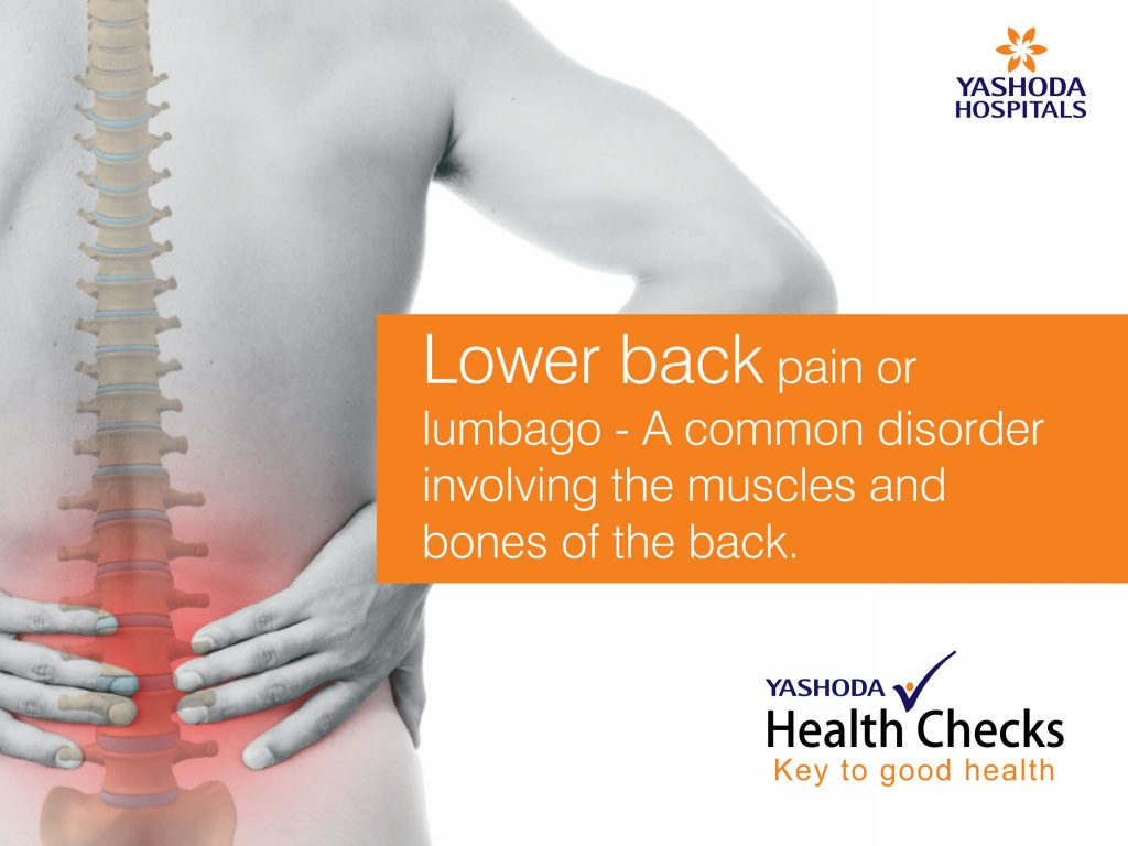 Lower Back Pain Or Lumbago A Common Disorder Involving The Muscles