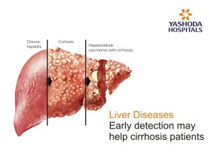 Liver Diseases - Early detection