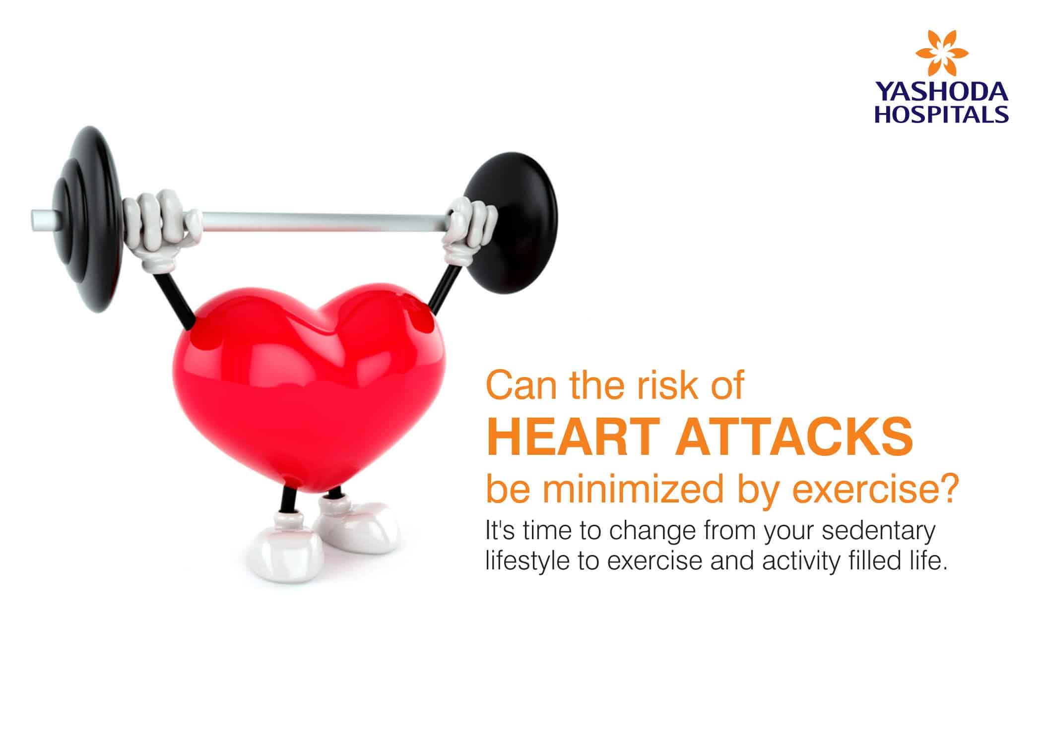 heart attacks prevented by exercise