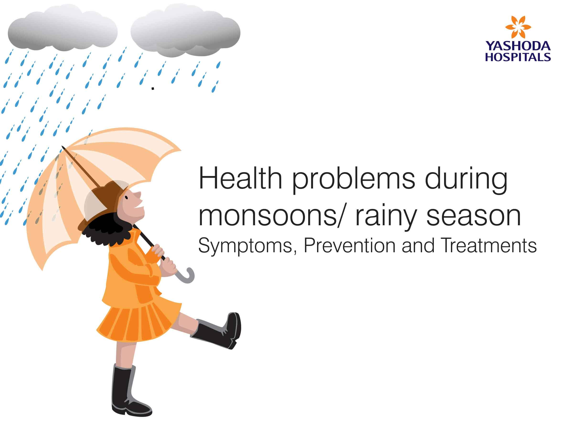 Health problems during monsoons