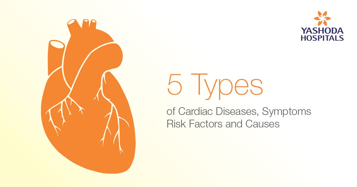 Heart Diseases, Causes, Symptoms and Risk factors