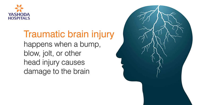 Traumatic brain injury happens when a bump, blow, jolt, or other head injury causes damage to the brain