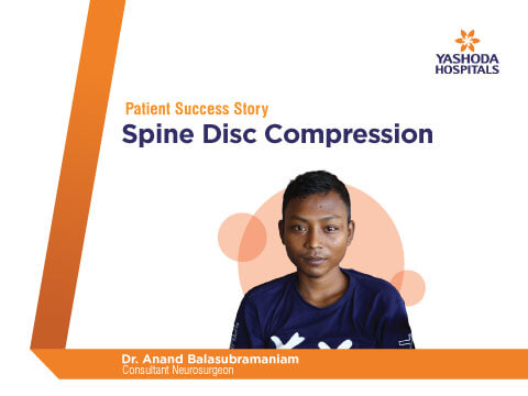 Spinal Decompression surgery by Dr. Anandh Balasubramaniam