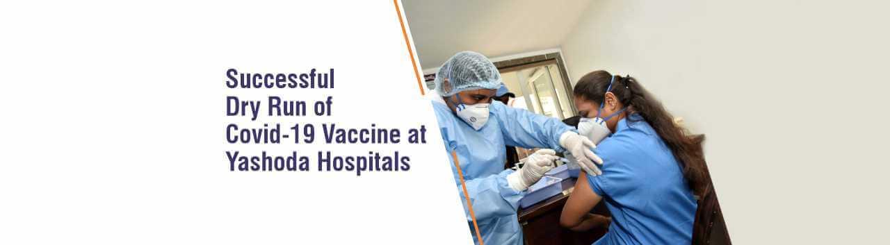 Dry Run of Covid-19 Vaccine