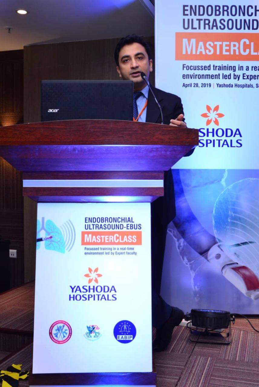 Yashoda Hospitals conducts 1st International Conference & Live Workshop on 'EBUS & Advanced Lung Cancer Treatments'