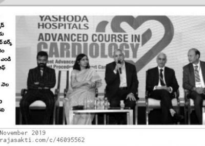 Live Workshop on Advanced course in cardiology pj
