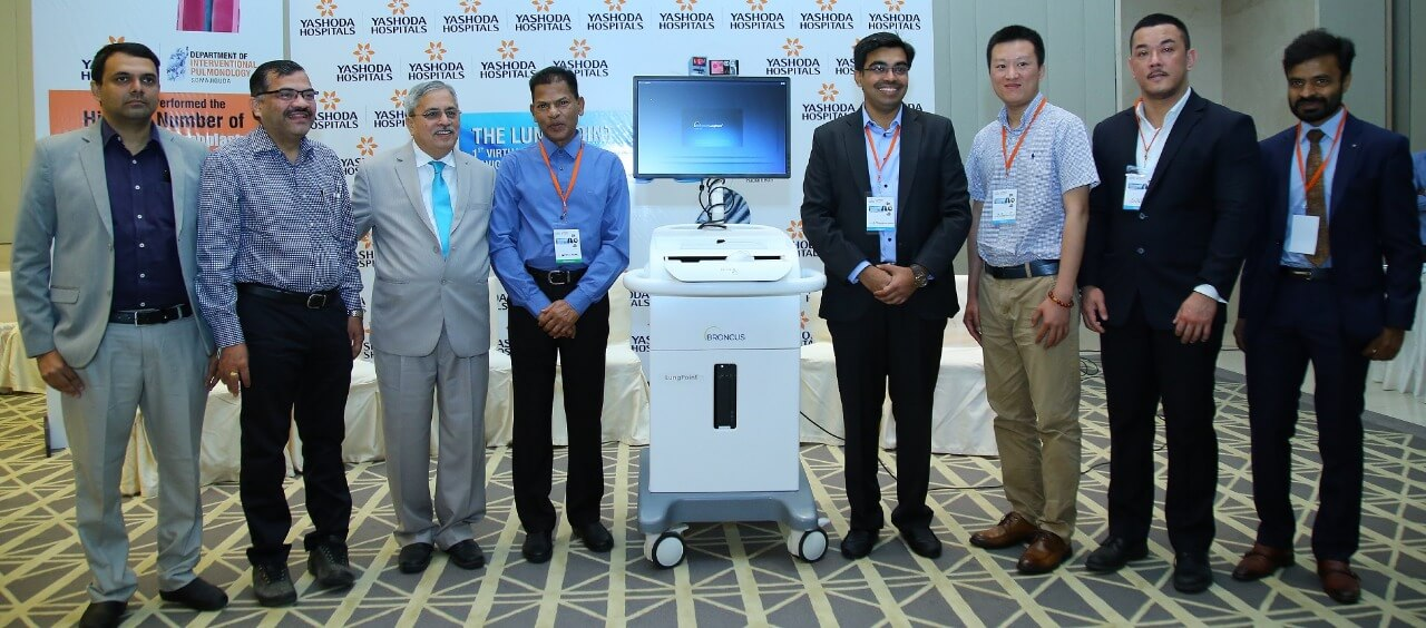 Lung Point technology to diagnose patients