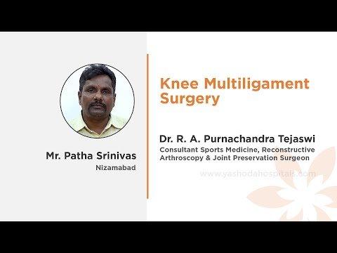 Mr. Patha Srinivas Knee Multiligament Surgery