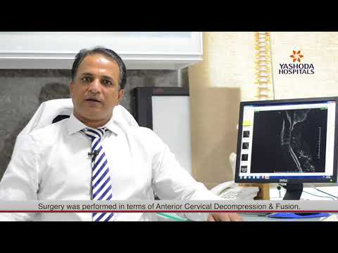 Patient Testimonial for Anterior Cervical Decompression by Mr. Balayya from Karimnagar