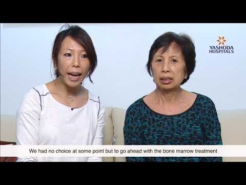 Patient Testimonial for Bone Marrow Transplant by Mrs. Liu Yen Chen from China