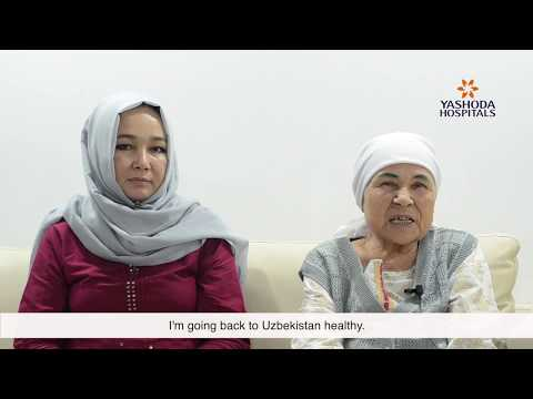 Patient Testimonial for Breast Cancer Surgery by Mrs. Pulatova from Uzbekistan