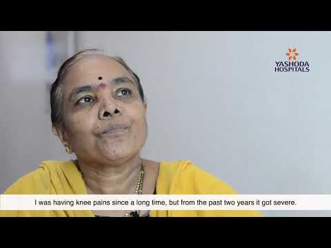 Patient Testimonial for Knee Replacement Surgery by Mrs. Veeralakshmi from Kamareddy