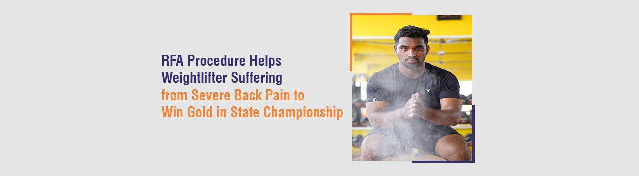 Suffering from Severe Back Pain to Win Gold in State Championship