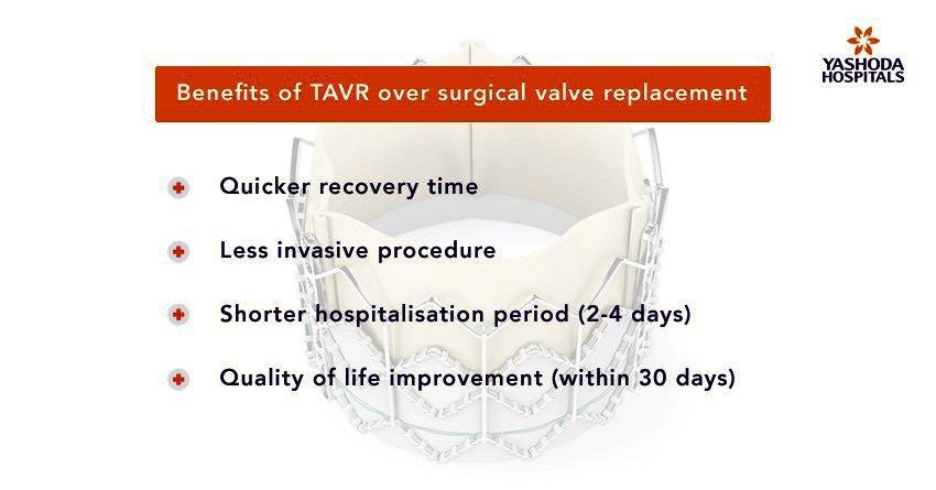 TAVR over surgical valve