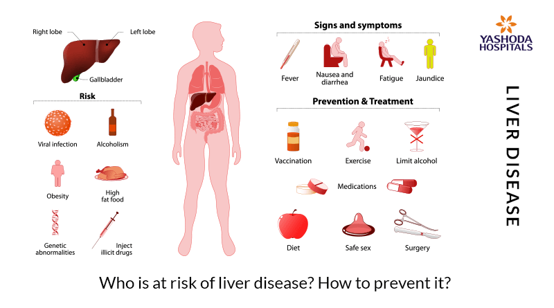 Who is at risk of liver disease How to prevent it
