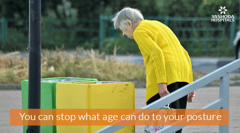 You can stop what age can do to your posture