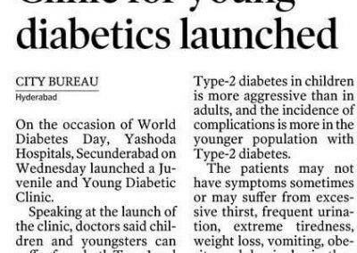 Young & Juvenile Diabetes Clinic