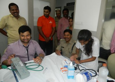 Yashoda Hospitals conducted preventive health checkup for police and their families