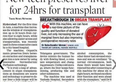 liver preservation system