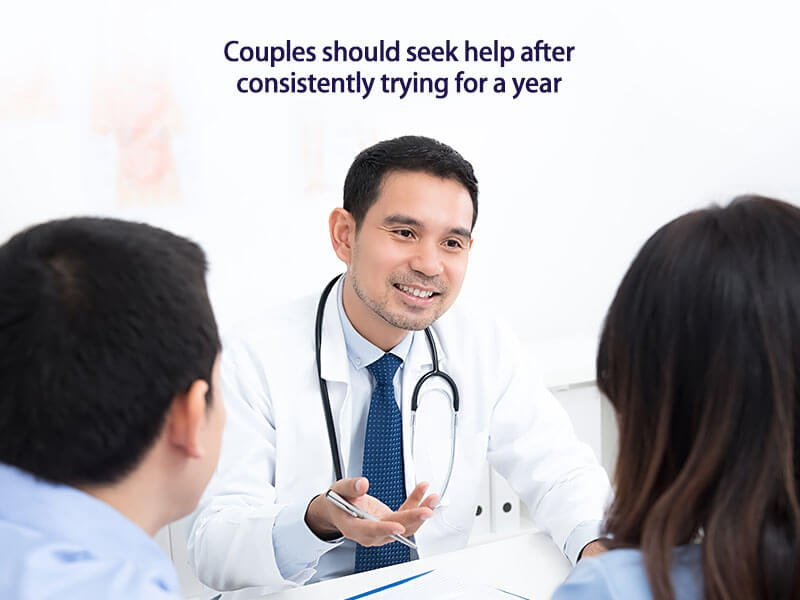 when should a couple see an infertility specialist