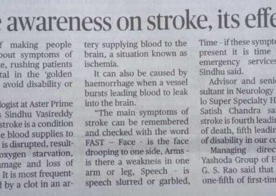 Stroke Awareness News