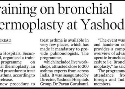 training in bronchial thermoplasty16