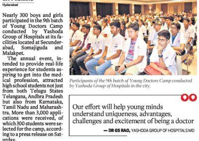 young doctors camp 2019 yashoda